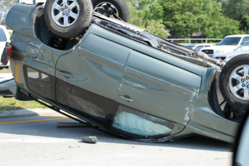 A single car accident Oklahoma. Call a single car accident lawyer for single car crash accidents.