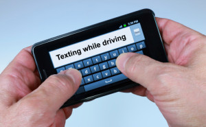Texting and driving accidents - Due to distracted driving Oklahoma.